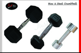 Hex & Steel Dumbbell
