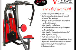 Pec Fly/Rear Delt